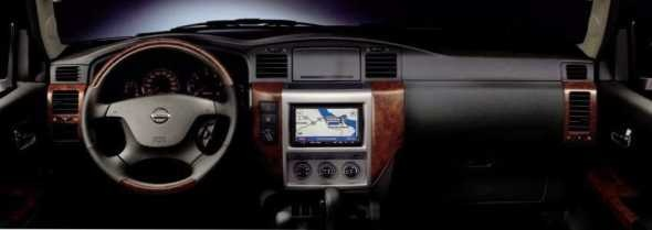Nissan Patrol Super Safari Dashboard